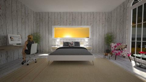 bnjmkokimjn - Country - Bedroom  - by DMLights-user-1593471