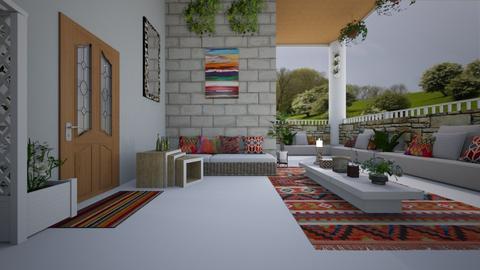 balcony hues - by faar70