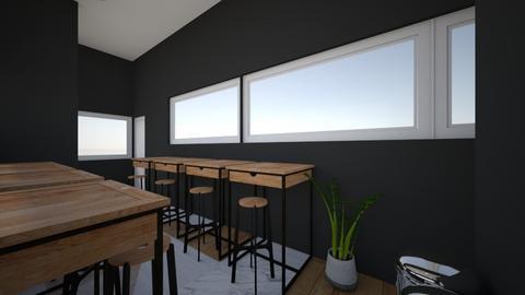 Foodie Bus - Dining room - by EwaT