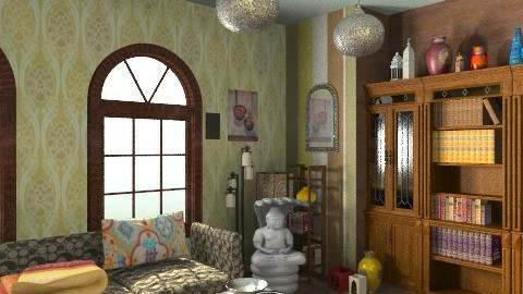 liv rm - Eclectic - Living room  - by shelleycanuck