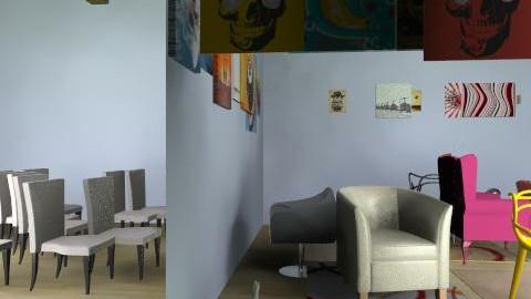 Cabin Feever - Rustic - Living room  - by Michaelaburchett
