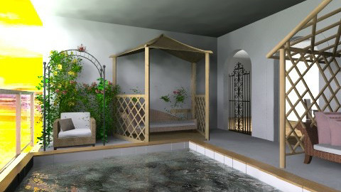 Swimming Pool - Garden  - by Mirth