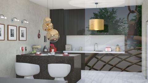 poleska salon - Living room - by robert111222333