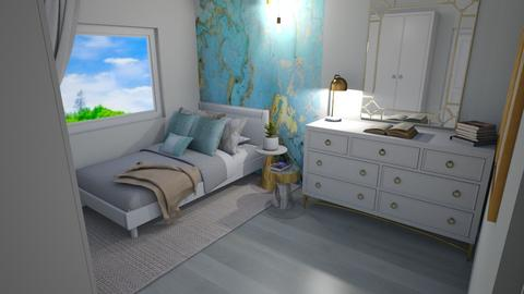 Small Bedroom 9 - Modern - Bedroom  - by Khayla Simpson