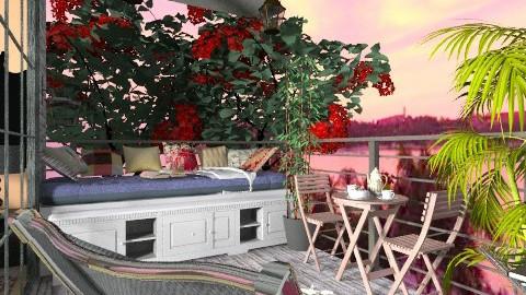 relax in summer - Modern - Garden  - by lamzoi