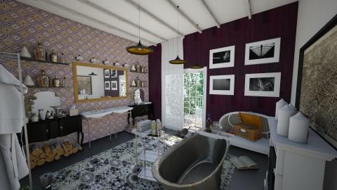 me time - Vintage - Bathroom  - by Ripley86