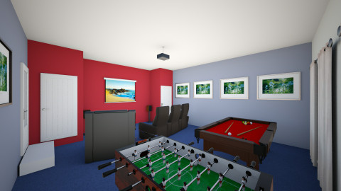 Newest Gibson Grove Room  - Retro - by gregjweeks