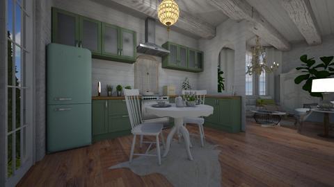 shabby kitchen  - Kitchen  - by willhenning