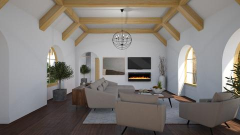 Crawford House - Classic - Living room  - by Claudia Correia