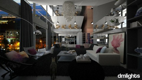 jbs penthouse - Living room - by DMLights-user-982918