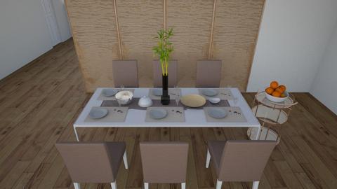 dining  - Minimal - Dining room  - by designbyma