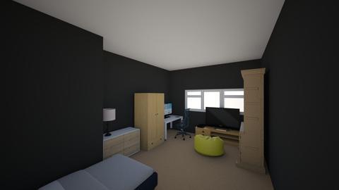 my room - Bedroom - by Robbie_what