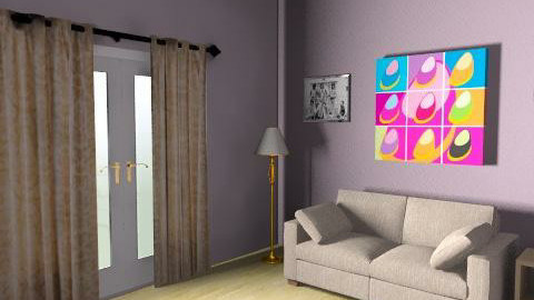 dave - Retro - Living room  - by davebez