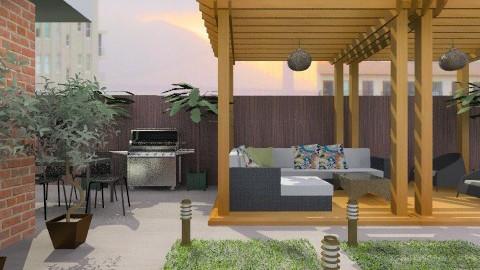 Rooftop Terrace - Modern - Garden  - by chloedaniella