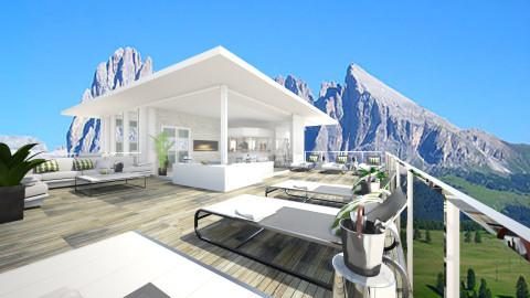 Fancy_rooftopBar - Modern - Garden  - by Gre_Taa