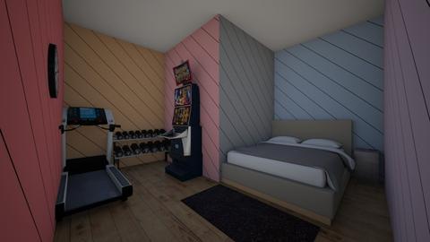 OE  - Bedroom  - by Mj_Nerd