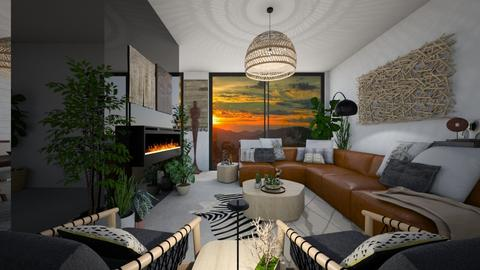 African Touch - Living room - by aq123
