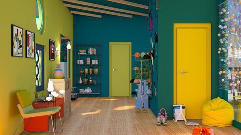 Playful Hallway III - by Jasmine_Jasmine