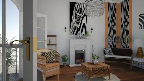 Zebra - Classic - Living room - by facundo