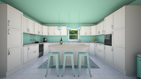 Mint Condition - Modern - Kitchen - by Vampire_Kitty
