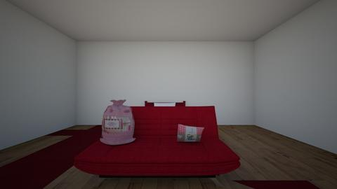 every room is adifferent  - Bedroom  - by Sophiasstudio
