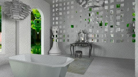 ModernBathroom3 - Eclectic - Bathroom - by anetzham