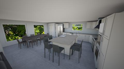 Kitchen Plan 11 - Modern - Kitchen  - by Marco DR