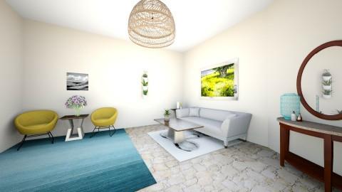 Cozy496 - Living room  - by InspiredRK