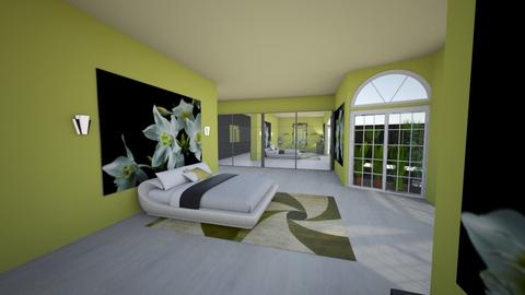 Fit for a QUEEN  - Glamour - Bedroom - by FRANKHAM