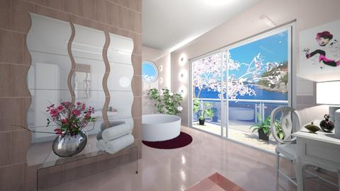 Cherry Bathroom - Modern - Bathroom  - by MonicaMV
