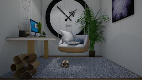 modern playful office - by belly bel bel