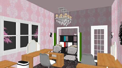 living canvas - Eclectic - Office  - by xosaraxo