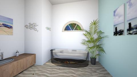 Tropical Bathroom - Bathroom  - by thenextdoorlawyer