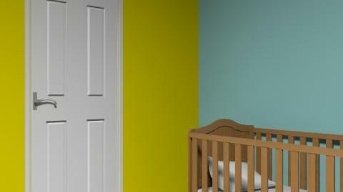 Five - Retro - Kids room  - by laminagatha