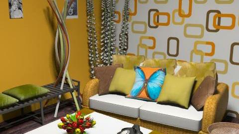 retro3 - Retro - Living room  - by lishyliry