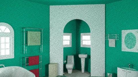 green is great - Eclectic - Bathroom  - by deleted_1550519236_sorroweenah
