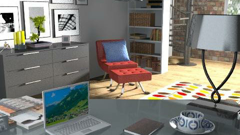 home office - Masculine - Office - by holliday92