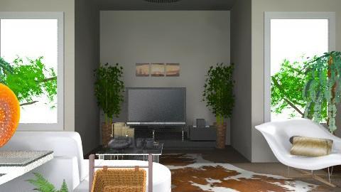 TV room - Retro - by deepthinker