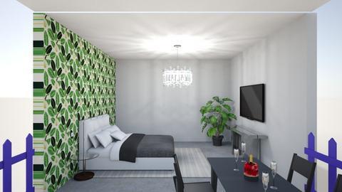 1 B and B 1  - Vintage - Bedroom  - by Britt_ben ik