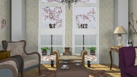 Chery - Classic - Living room  - by milyca8