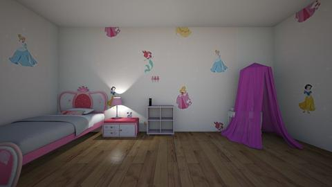 camera disney - Kids room - by pasticcere