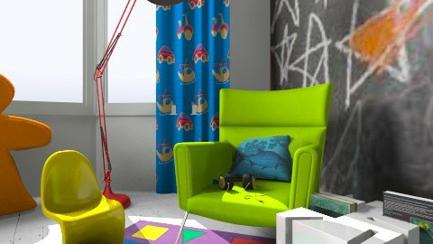 Quirky Corner - Kids room  - by MeeraPatel357