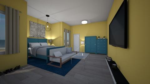 Yellow Beach Babe - Modern - Bedroom - by stella2