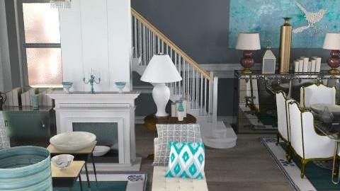 siellroom0 - Retro - Living room  - by naki1