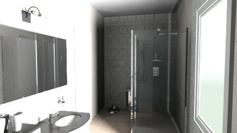 RD projekt 0214 - Classic - Bathroom  - by prostechlap