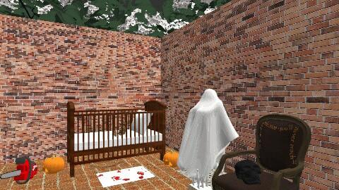 nursery scary - Rustic - Bedroom  - by mpy1999