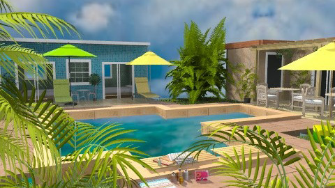 Lily Beach Resort - Classic - Garden  - by Bibiche