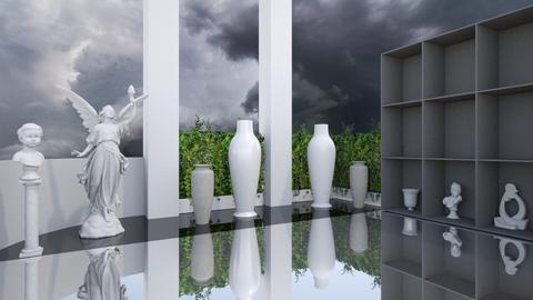 Sculptures park - Classic - Garden  - by Snowbell
