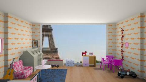 designed by Lenka - Kids room - by frodo2002
