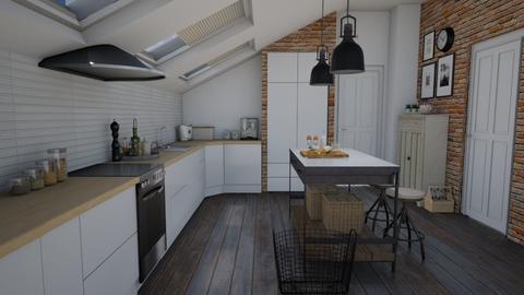 Sloping windows - Kitchen  - by Thrud45